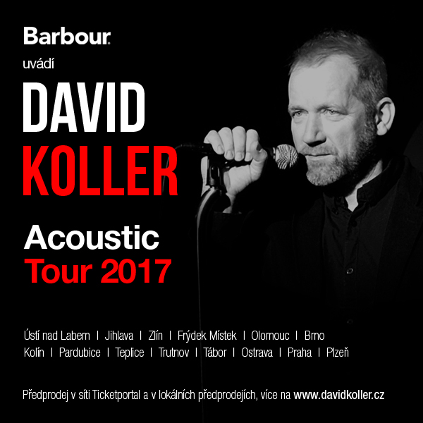 David Koller Acoustic Tour 2017