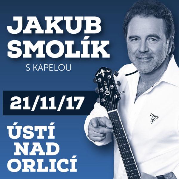JAKUB SMOLÍK s kapelou - Ústí nad Orlicí