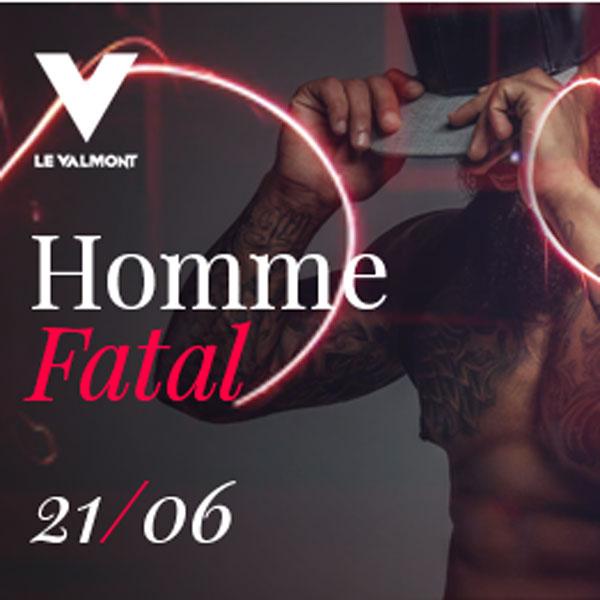 Homme Fatal - unikátní noc pro dámy