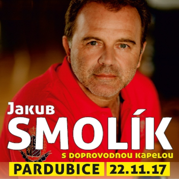 JAKUB SMOLÍK s kapelou - Pardubice