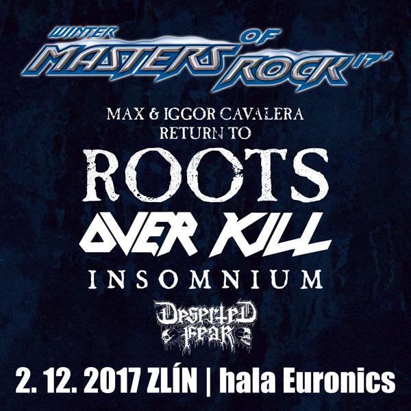 ZIMNÍ MASTERS OF ROCK 2017
