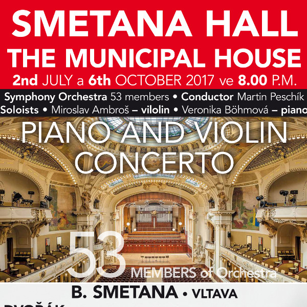 Piano and violin concerto