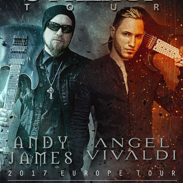 ANDY JAMES (UK) & ANGEL VIVALDI (USA)