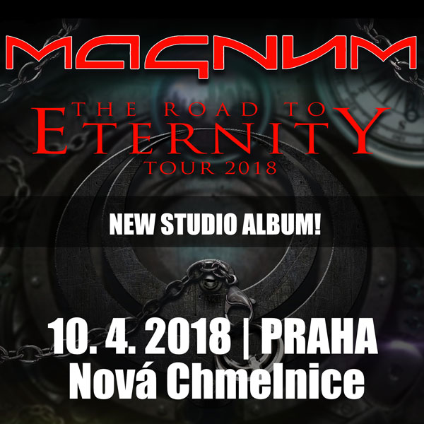 MAGNUM (UK) - The Road To Eternity Tour 2018
