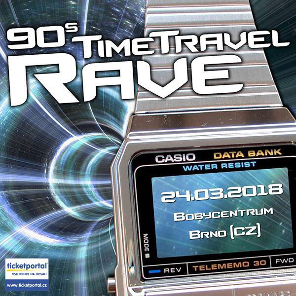 90s TIME TRAVEL RAVE