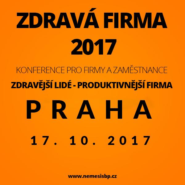 ZDRAVÁ FIRMA 2017, konference pro management