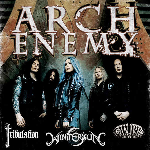 ARCH ENEMY (SE) - WILL TO POWER EU TOUR