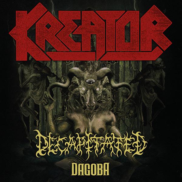 KREATOR (DE): Gods of Violence Tour