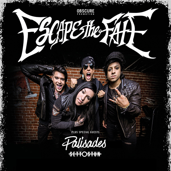 ESCAPE THE FATE (USA)