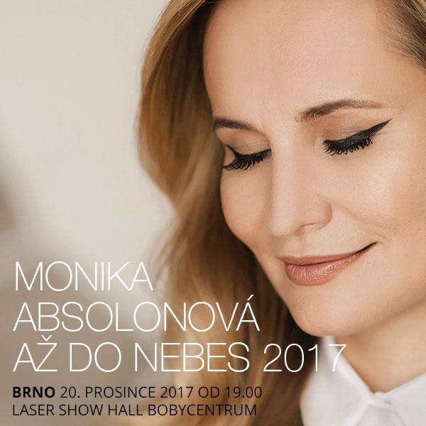 Monika Absolonová – Tour Až do nebes 2017