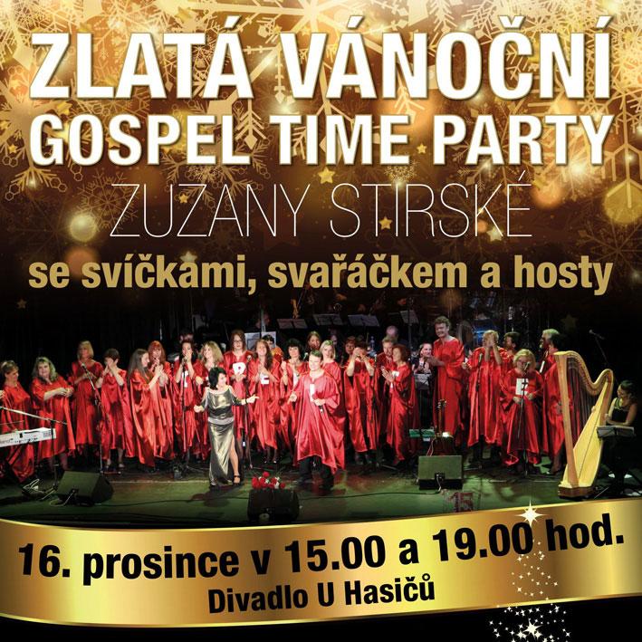 Zuzana Stirská - Zlatá vánoční Gospel Time Party