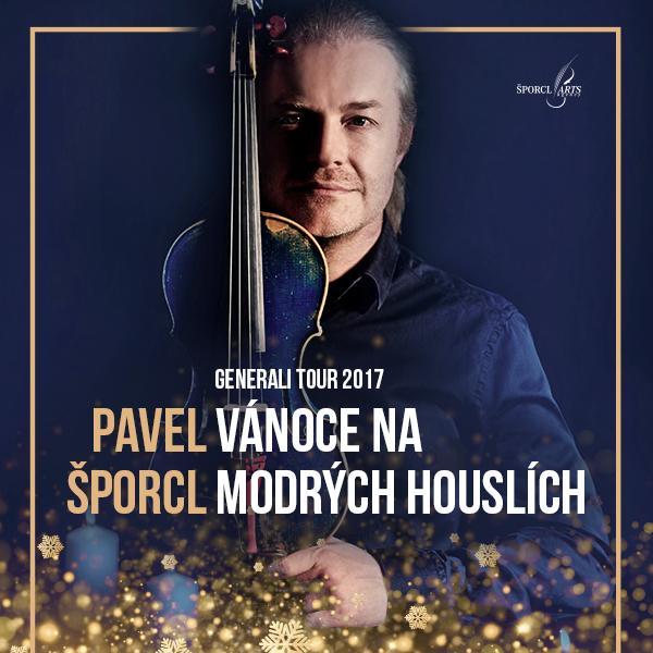 Pavel Šporcl - Vánoce na modrých houslích 2017