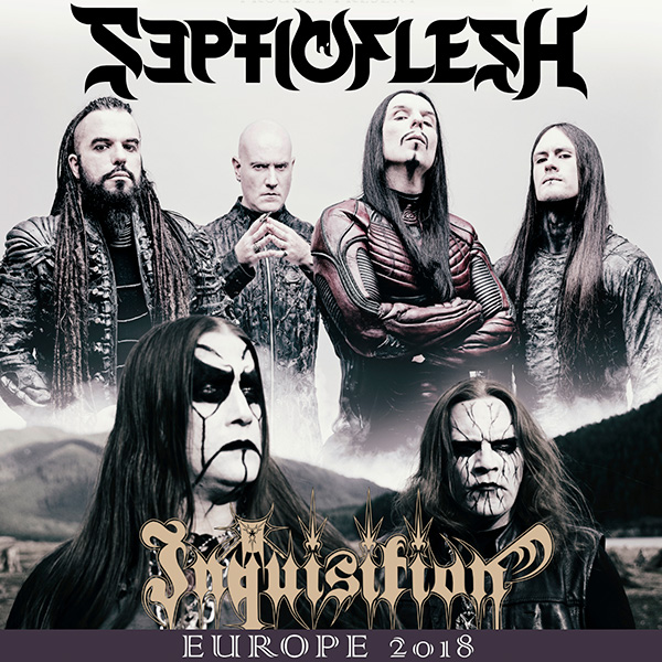 SEPTICFLESH (GR) w/ Inquisition (Co) – Europe 2018