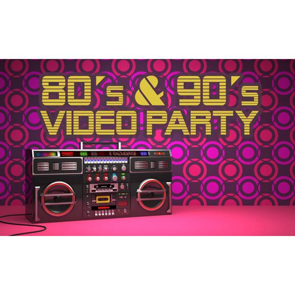 SILVESTROVSKÁ POP 80´s & 90´s VIDEO PARTY