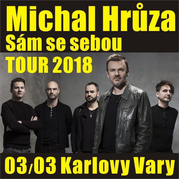 Michal Hrůza: Sám se sebou TOUR 2018, Karlovy Vary