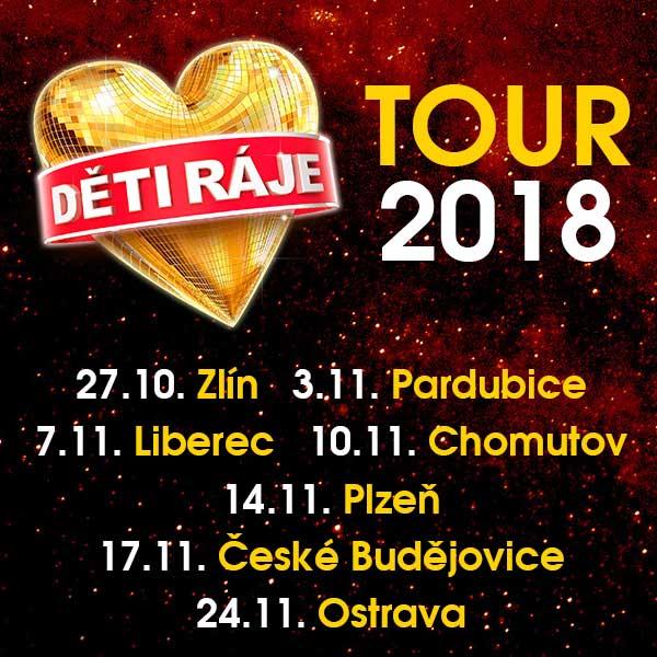 Děti ráje TOUR 2018
