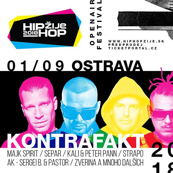 HIP HOP ŽIJE 2018 - OSTRAVA