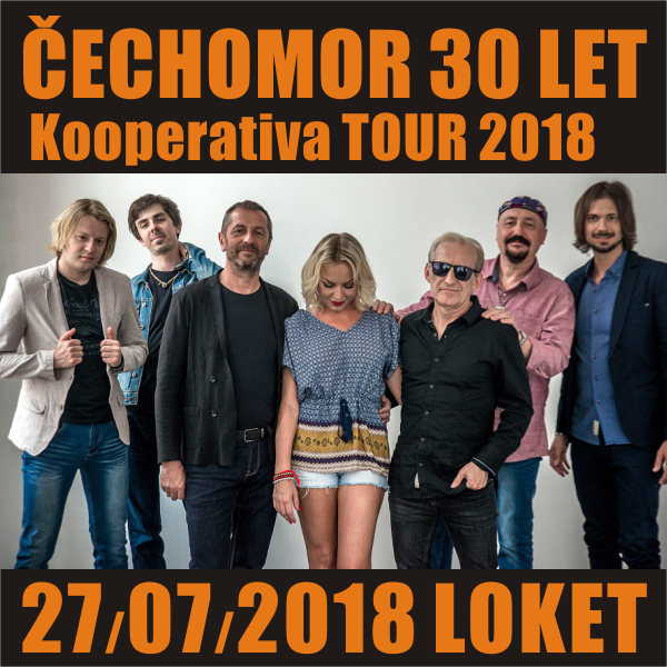 Čechomor: 30 let (Kooperativa TOUR 2018), Loket