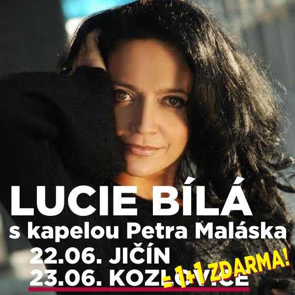 LUCIE BÍLÁ s kapelou Petra Maláska, Kozlovice