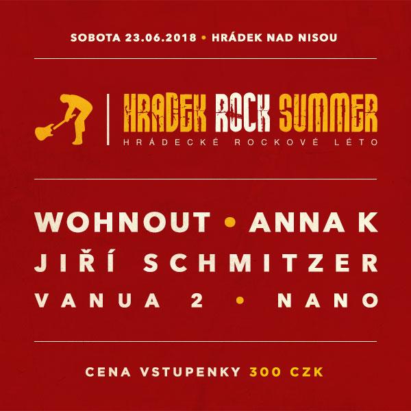 Hrádek Rock Summer 2018