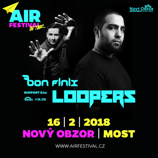 AIR FESTIVAL ON TOUR / DJ LOOPERS (NL)