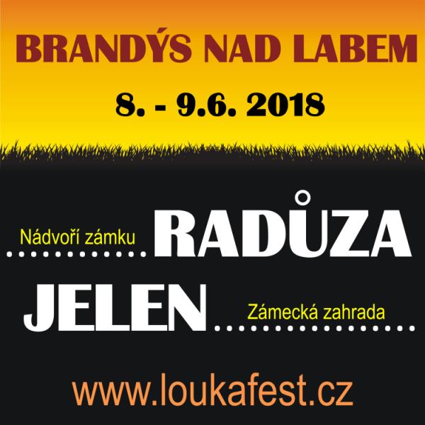 LOUKA FEST 2018, open air festival v Brandýse n/L.