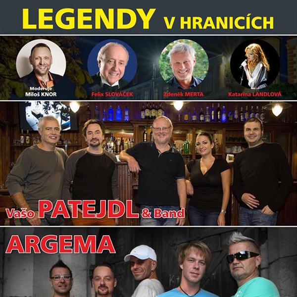 LEGENDY V HRANICÍCH - benefiční koncert