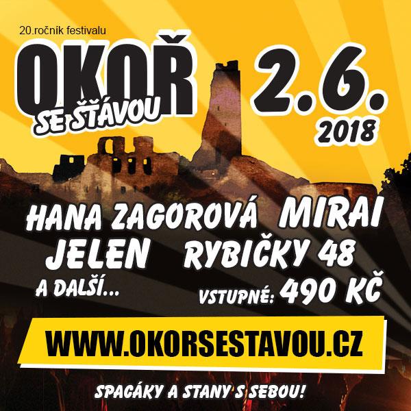 Okoř se šťávou 2018 - Open air festival