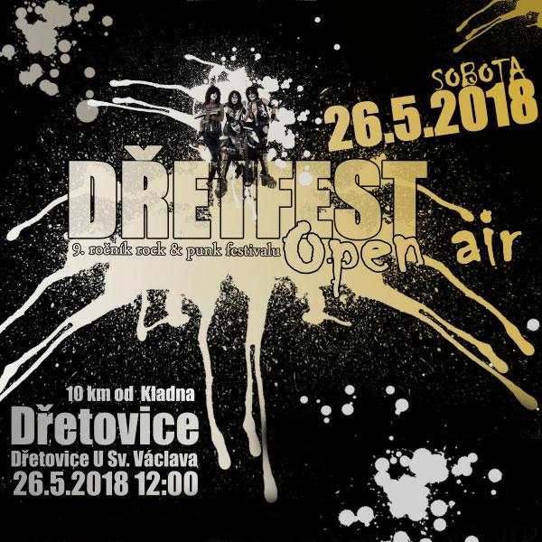 DřetFest open air - 9.ročník rock & punk festivalu
