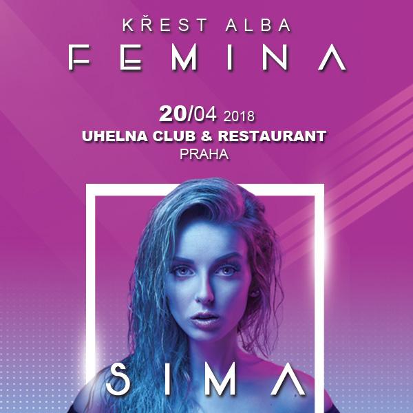 SIMA / křest alba Femina