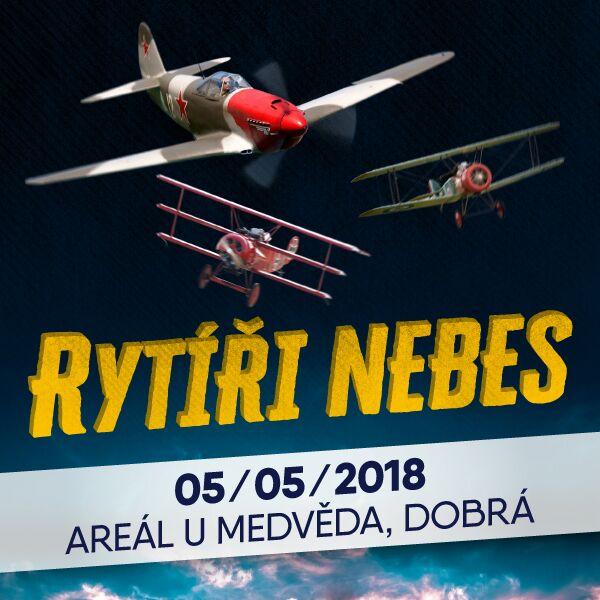 RYTÍŘI NEBES letecká akrobatická show