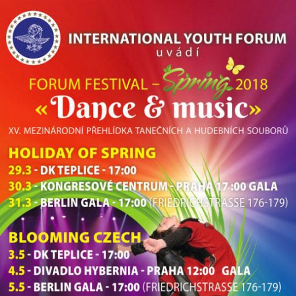 XV. Mezinárodní festival SVÁTEK JARA 2018
