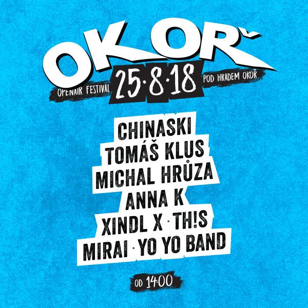 OKOŘ open air festival 2018