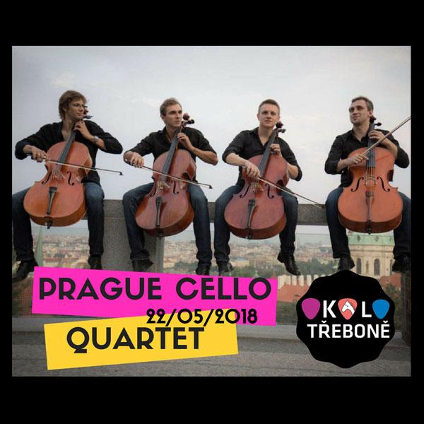 Prague Cello Quartet v Třeboni
