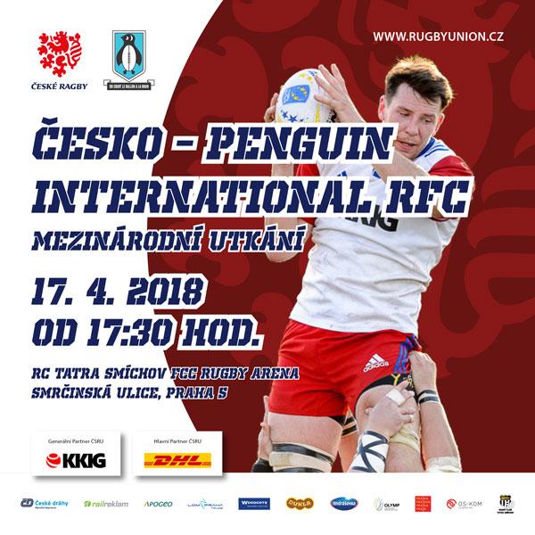 Ragby: Česká republika vs. Penguin RFC