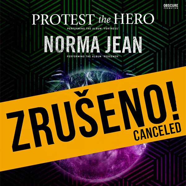 PROTEST THE HERO (CA) & NORMA JEAN (US)