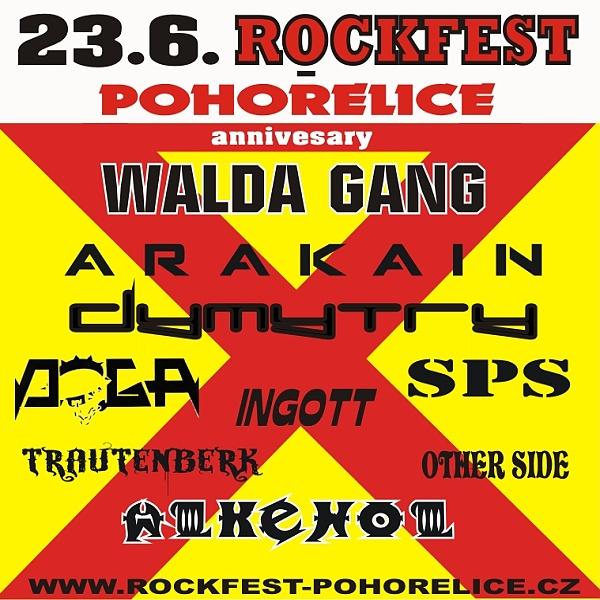 ROCKFEST POHOŘELICE 2018
