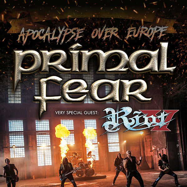 PRIMAL FEAR (DE): Apocalypse Over Europe