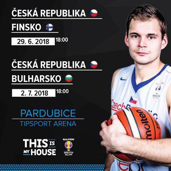 Balíček - Kvalifikační utkání MS mužů v basketbalu