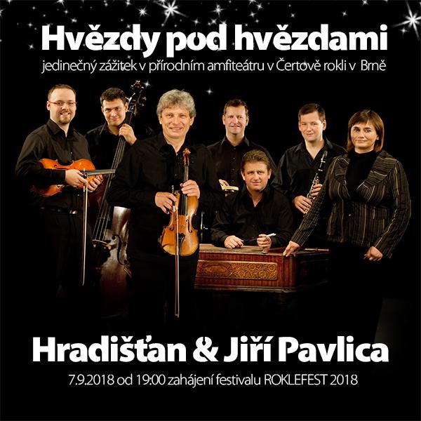 ROKLEFEST 2018 - Hradišťan & Jiří Pavlica
