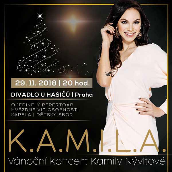 Vánoční koncert Kamily Nývltové