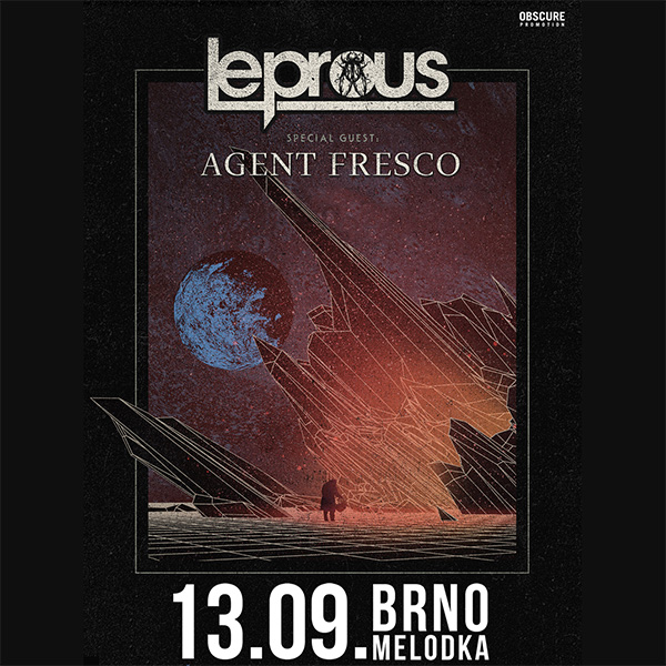 LEPROUS (NO) w/ Agent Fresco (Is)