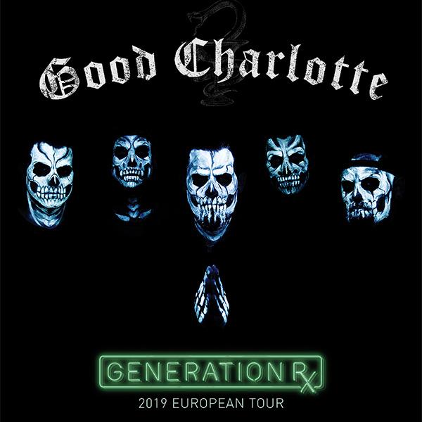 GOOD CHARLOTTE / US - Generation Rx Tour 2019