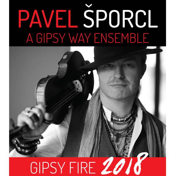 PAVEL ŠPORCL a GIPSY WAY ENSEMBLE -GIPSY FIRE 2018