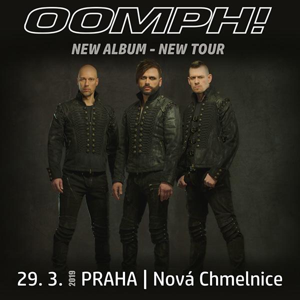 OOMPH! (DE) - EUROPEAN TOUR 2019