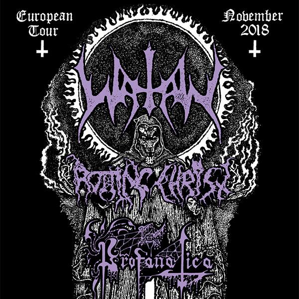 WATAIN (SE) - EUROPEAN TOUR 2018