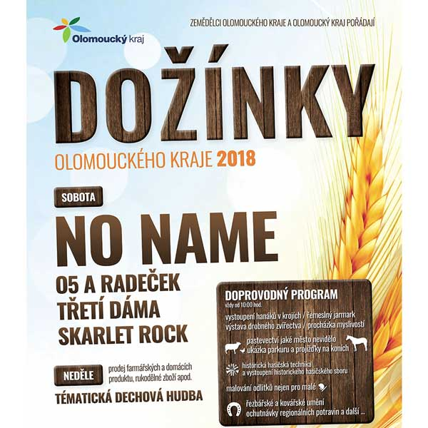 Dožínky Olomouckého kraje 2018