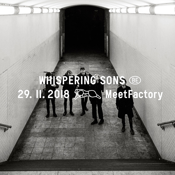 WHISPERING SONS (BE)