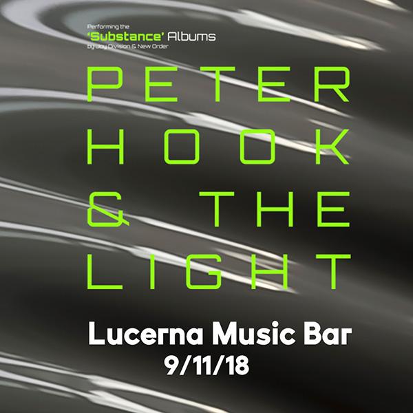 PETER HOOK & THE LIGHT / UK
