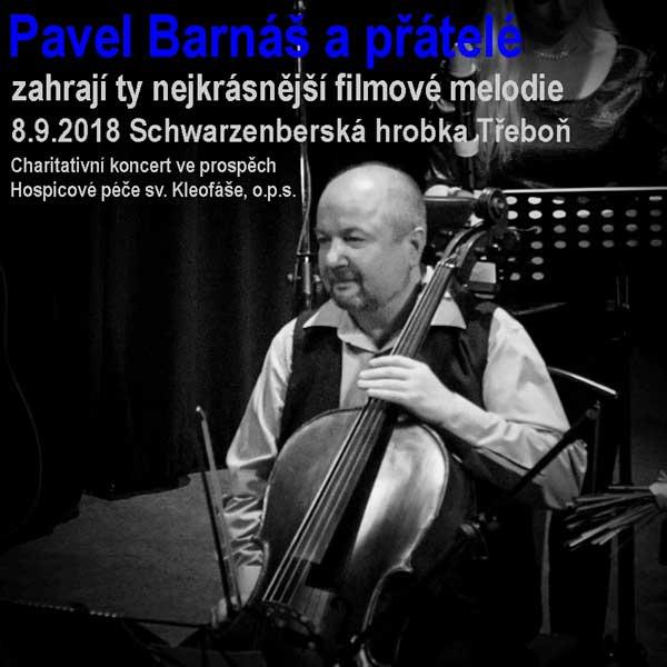 Pavel Barnáš a přátelé – Koncert filmových melodií